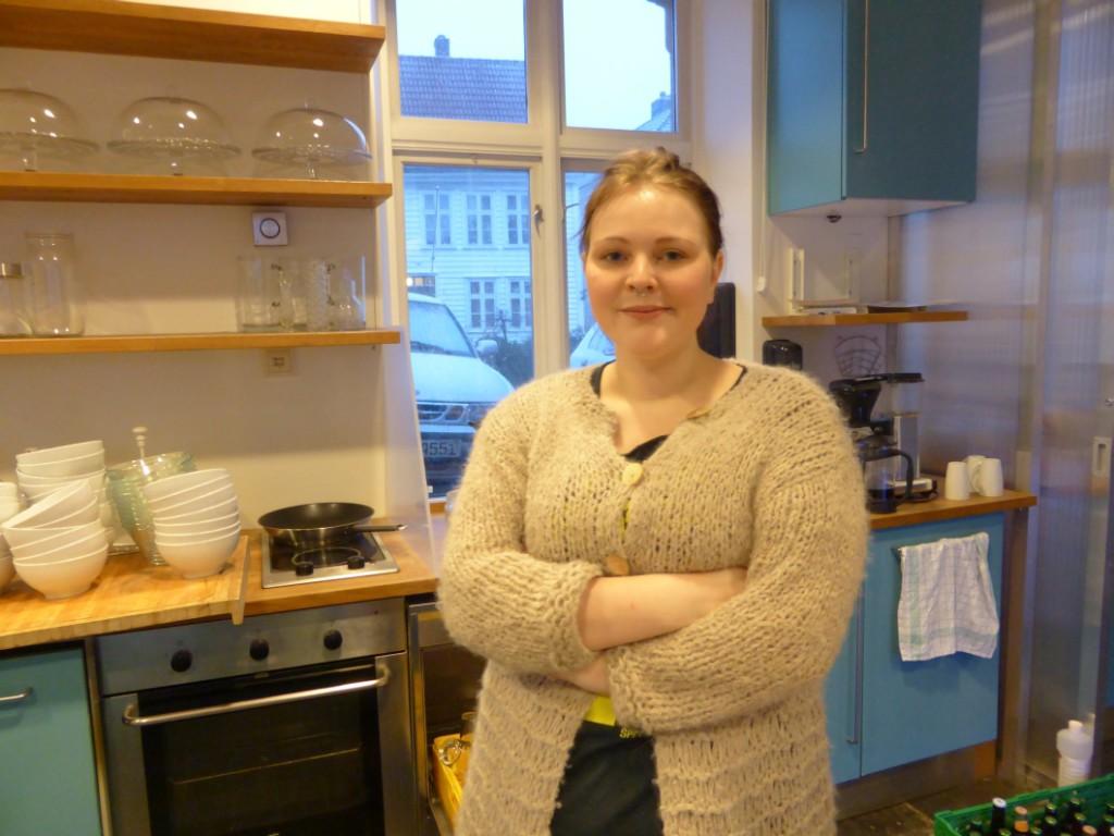 Anne Bengtsson blir arbeidsleder for den nye kaféen.