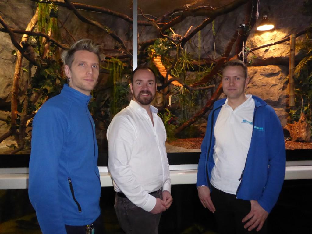 ansattrepresentant i styret, Chris Wollertsen, direktør Kees Ekeli og tillitsvalgt Even Romarheim er alle enige om at nå går alt så mye bedre.