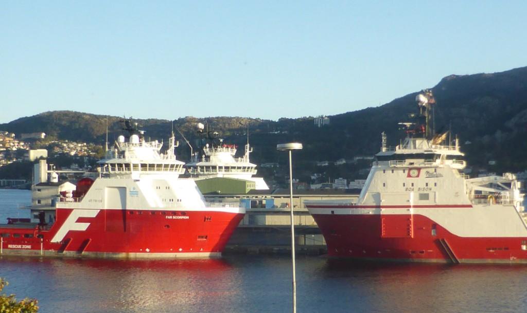 Ved overgang til strøm fra land kan potensielt 90 prosent av utslippene fra skip reduseres.