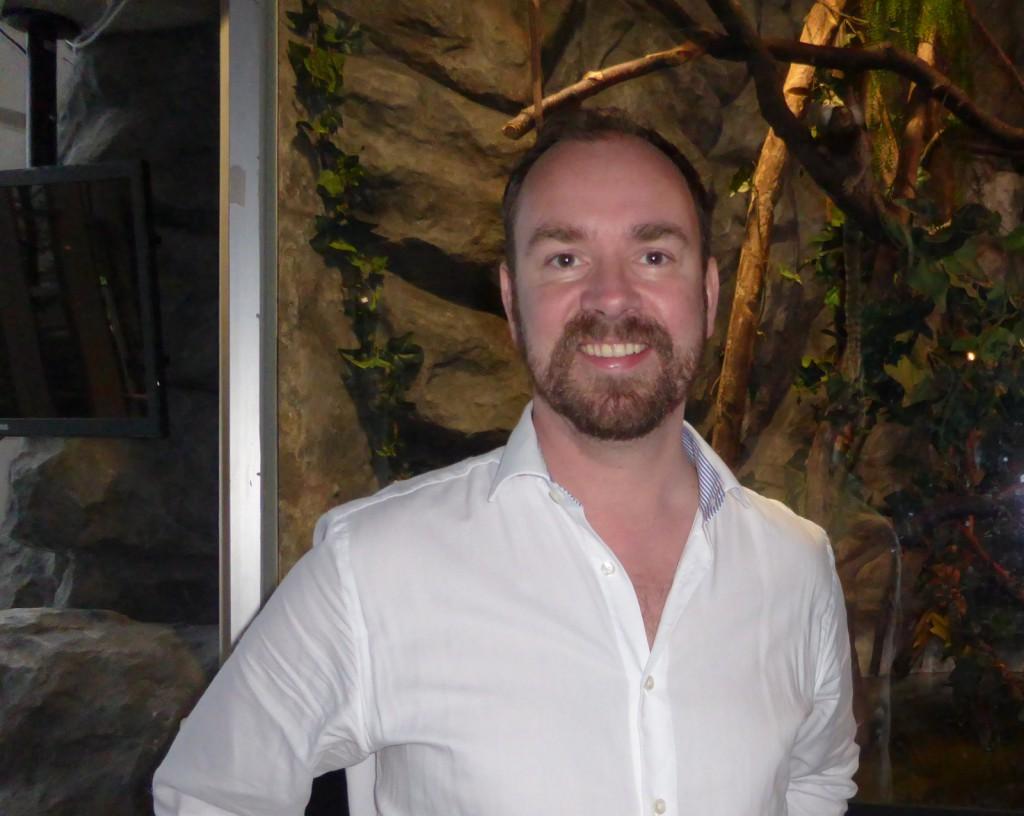 Avtroppende direktør for Akvariet Kees Ekeli flytter til Flåm i påsken.