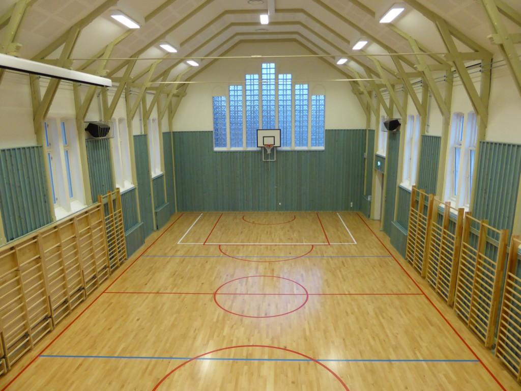 Nordnes skole gymsal