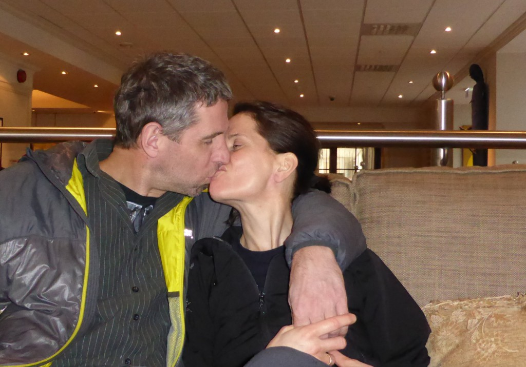 Helge Larsen (49) og Hilde Hauken (48) fant lykken gjennom frivilligheten.