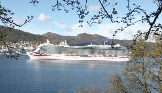 Det lengste skipet til Bergen i år