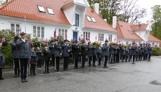 Nordnæs Bataillon er tidlig oppe