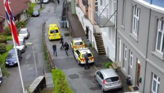 Blodig mann funnet i Fredriksbergsgaten