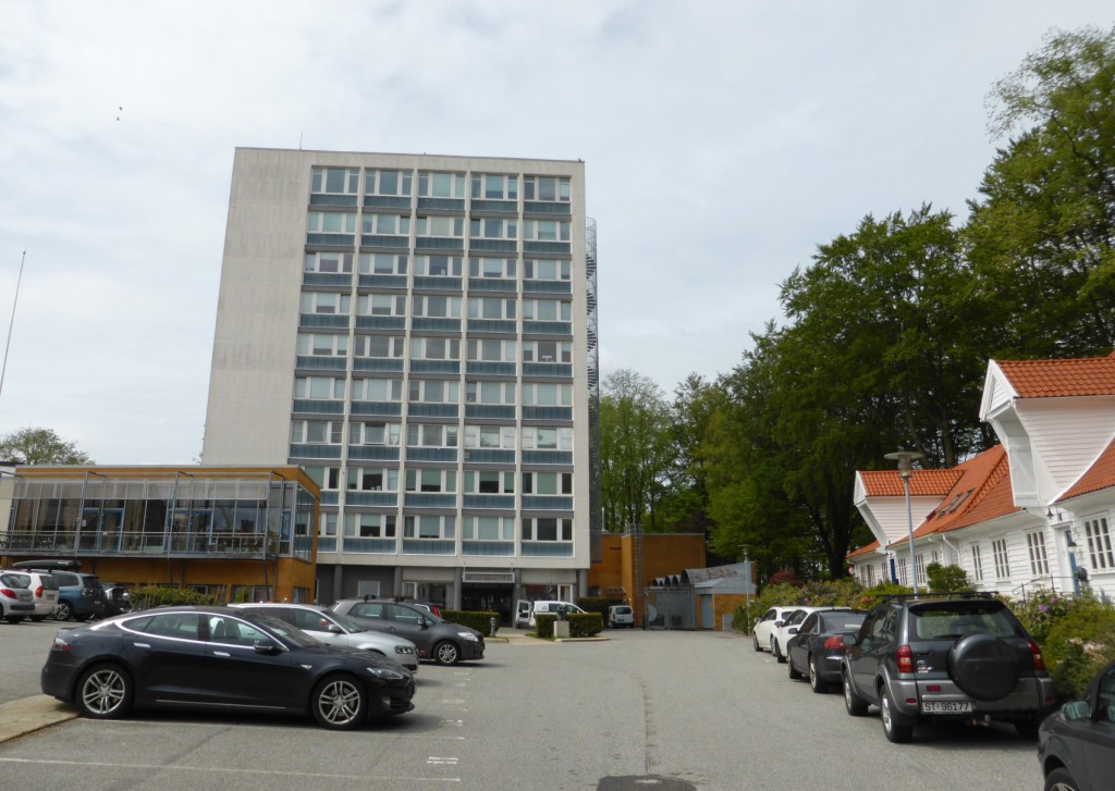 Hovedsete for Havforskningsinstituttet er ytterst i Nordnesveien. Foto: Eva Johansen