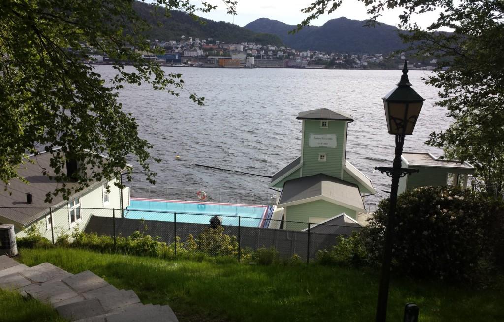 Nordnes sjøbad: En perle for badende i hele byen vår. Foto: Eva Johansen