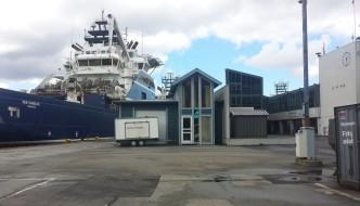 Skandi Vega ble første offshorefartøy på landstrøm