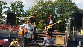 Konsert på taket av Akvariet