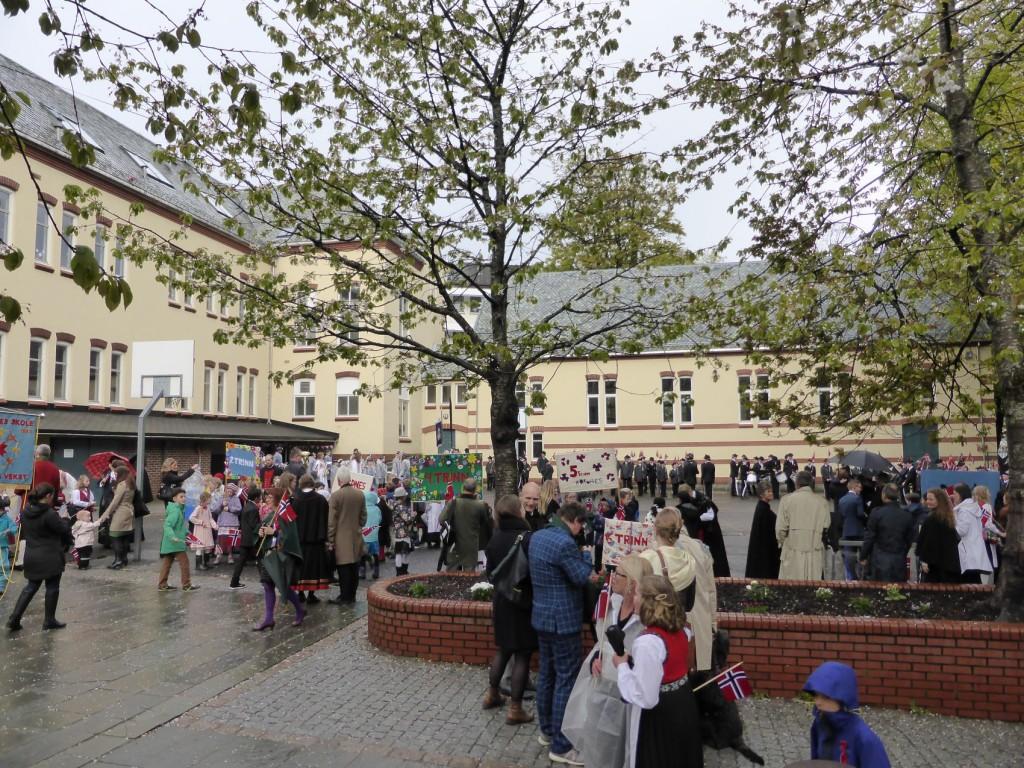 Arkivbilde: Nordnes skole 17. mai i år. Foto: Eva Johansen