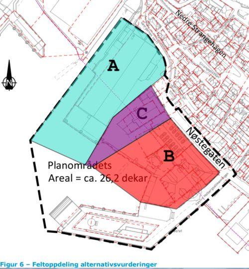 Skisse fra planforslaget.