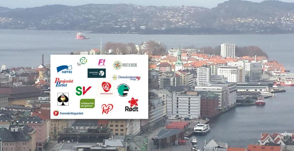 Nordnes skiller seg fra resten av Bergen på mange partiers oppslutning. Foto: Eva Johansen