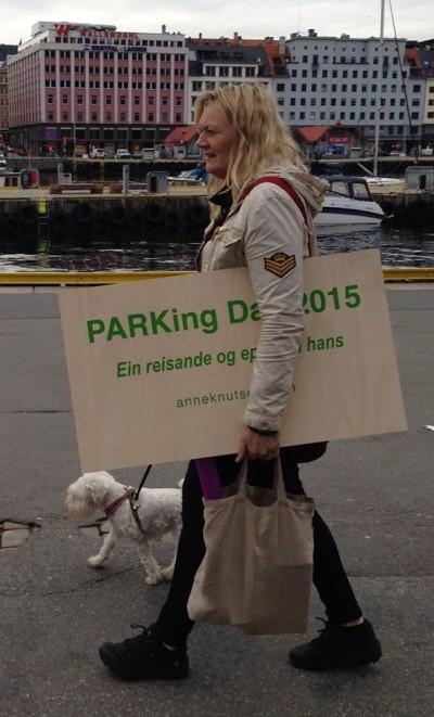 Anne Knutsen er i full gang med forberedelsene. Foto: Privat
