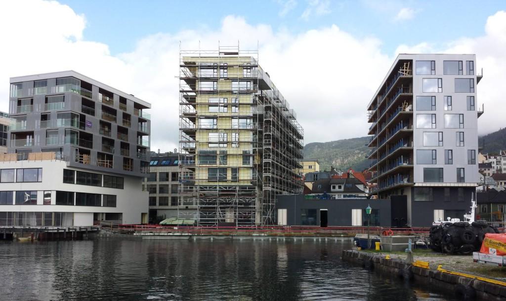 98 leiligheter er snart ferdige i Nøstet Panorama. Foto: Eva Johansen