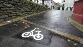 Her er det blitt enklere for syklister