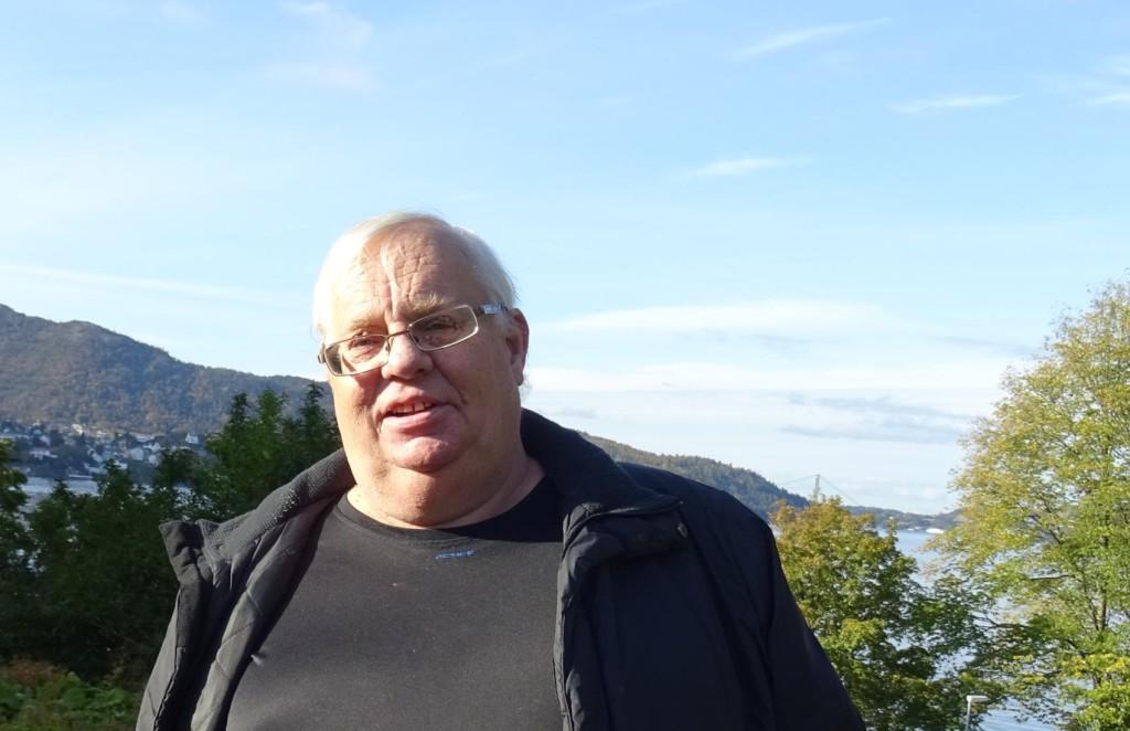 Roy Løvaas kan mer historie om Nordnes enn de fleste. Foto: Eva Johansen
