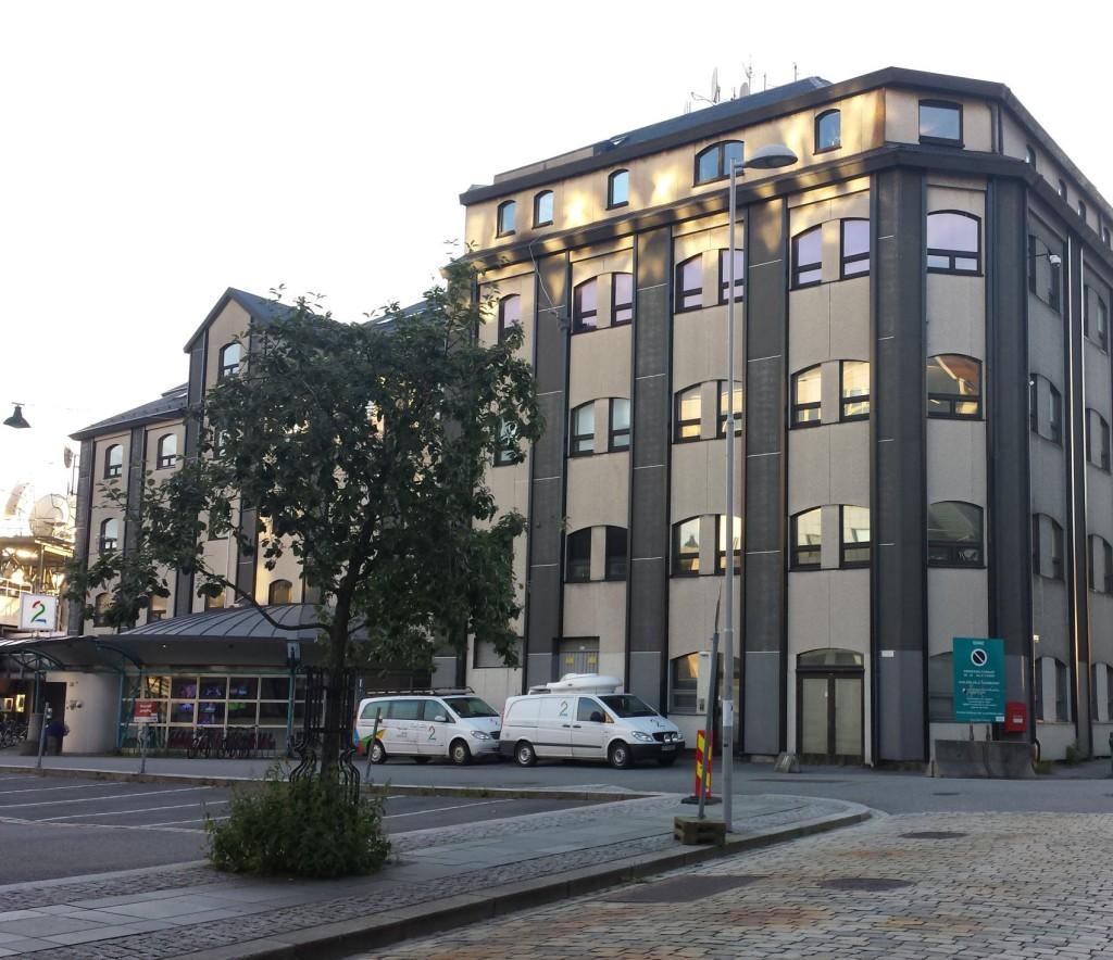 TV2 holder til, enn så lenge, på Nøstet. Foto: Eva Johansen