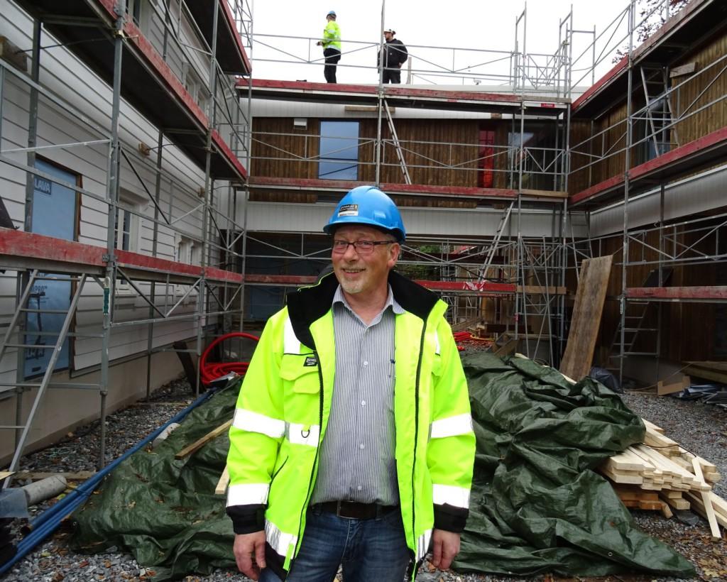 Prosjektleder Magnus Halsør har lagt sjelen i prosjektet. Foto: Eva Johansen
