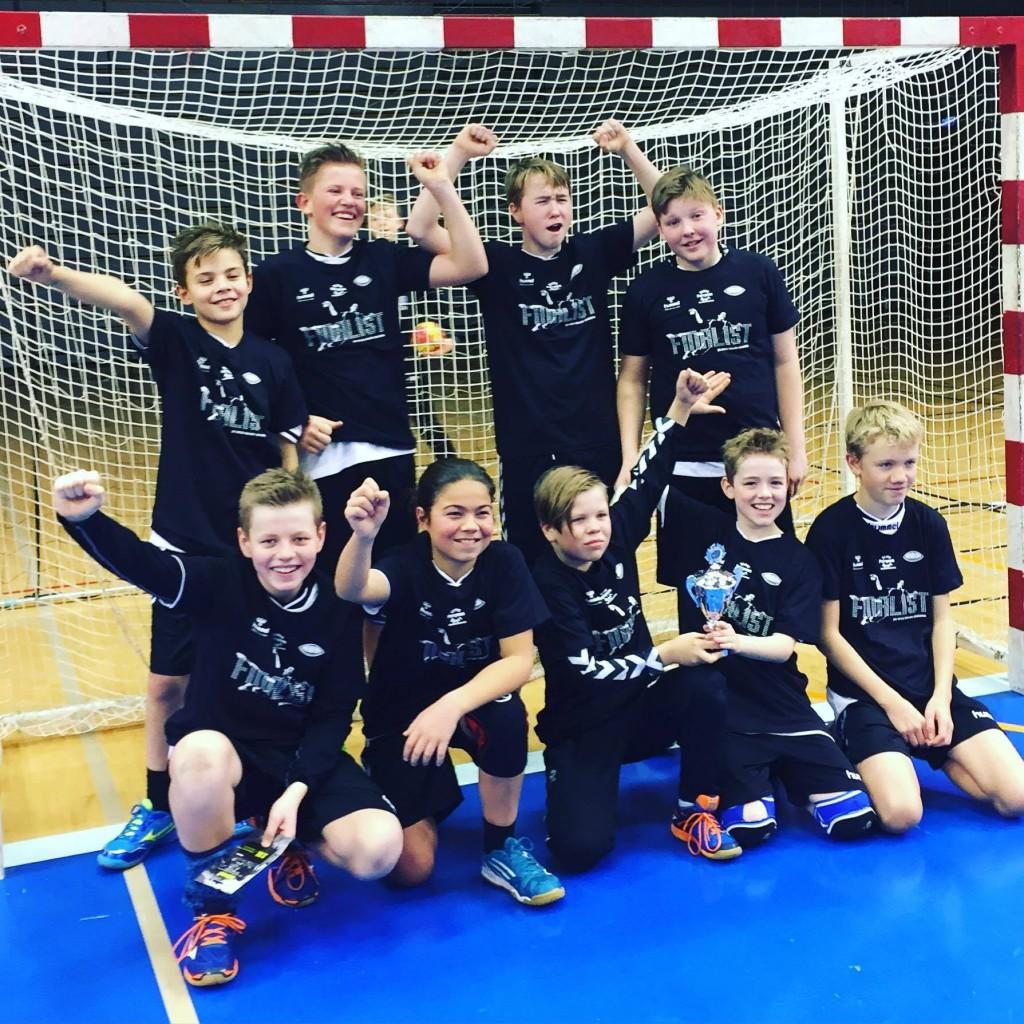Her er sølvlaget, gutter 12 fra Nordnes-Bjarg.