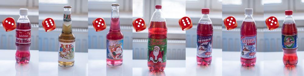 Testpanelet var svært entusiastiske da de skulle prøve de ulike julebrusene, og gavmilde med terningkastene.