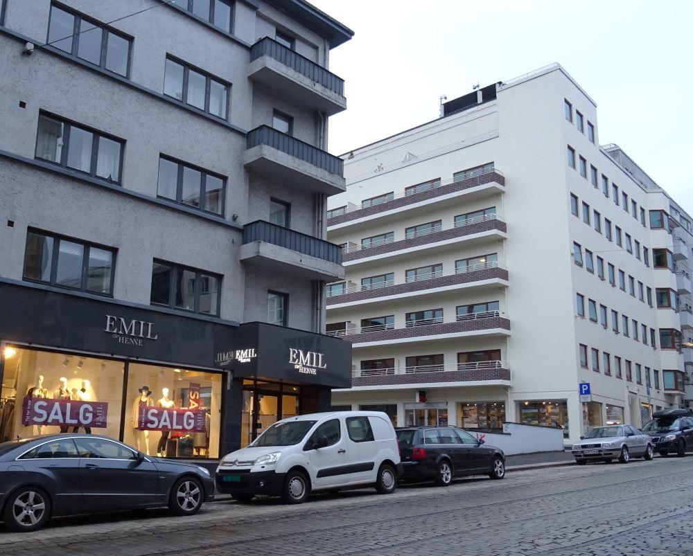 Omtrent der Emil ligger i dag i Markeveien var Fortunen skole. Foto: Eva Johansen