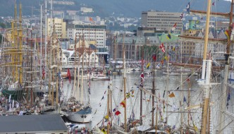 Tall Ships Races tilbake til Bergen i 2019