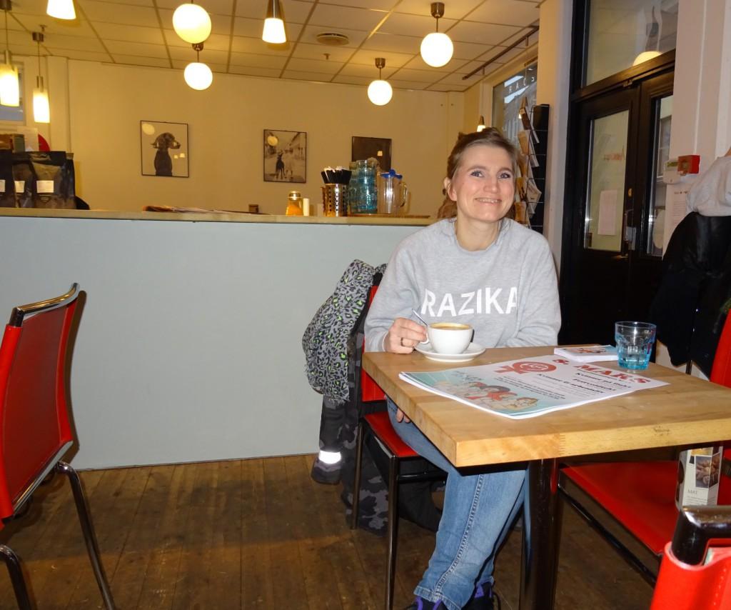 Vivian Skaten Nesse er leder av 8.mars-initiativet 2016. Foto: Eva Johansen