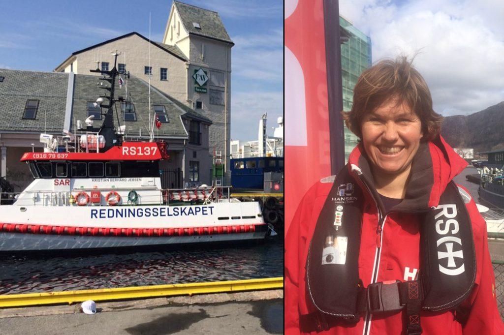 Regionsansvarlig Vest Distrikt og forebyggende arbeid, Bente Ottesen tiltrådte jobben 1. april. Nå inviterer hun til bursdagsfest. Foto: Redningsselskapet