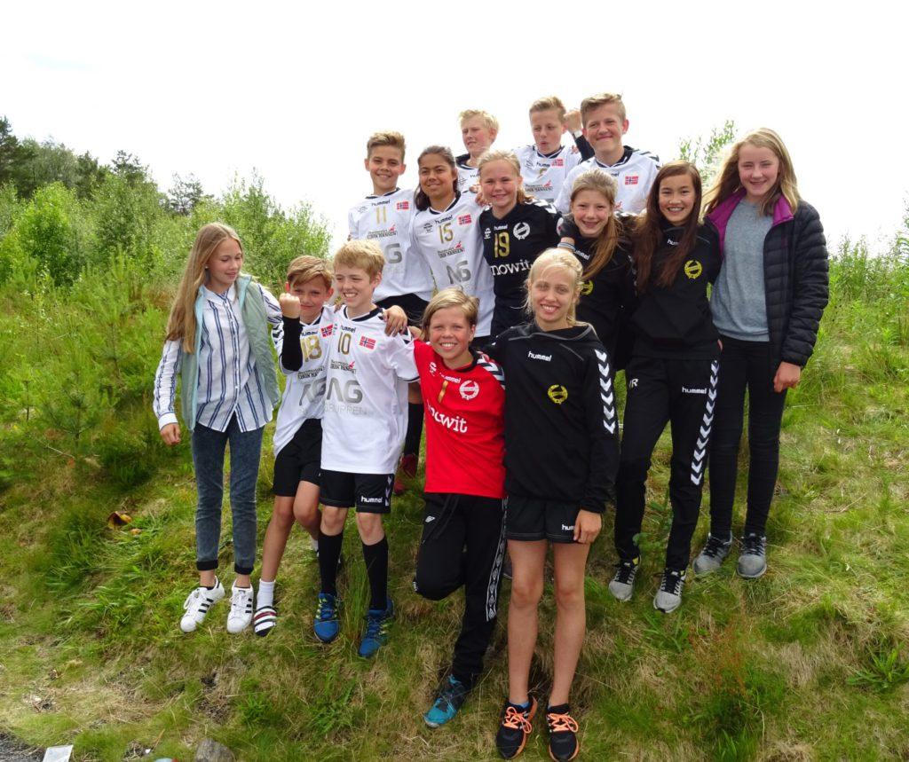 Gleder seg til cup i Danmark: Gutter og jenter 13 år Nordnes il.
