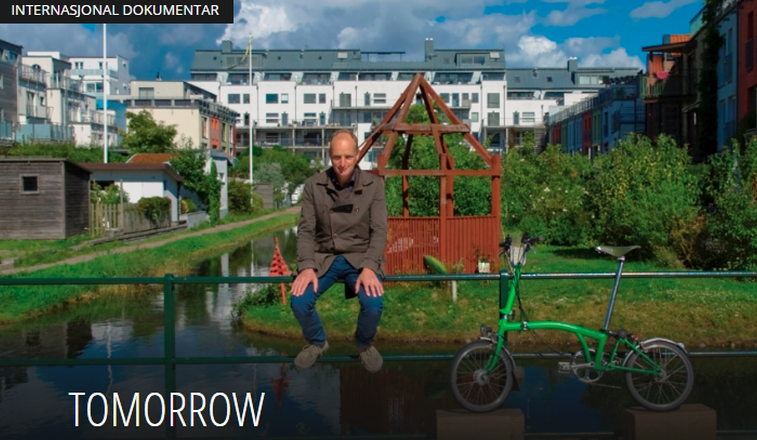 "Innsenderen oppfordrer til å se filmen ""Tomorrow"". Foto/screenshot: Biff.no"
