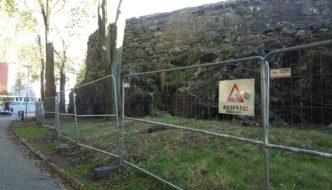 Stein for stein sikres på Fredriksberg festning