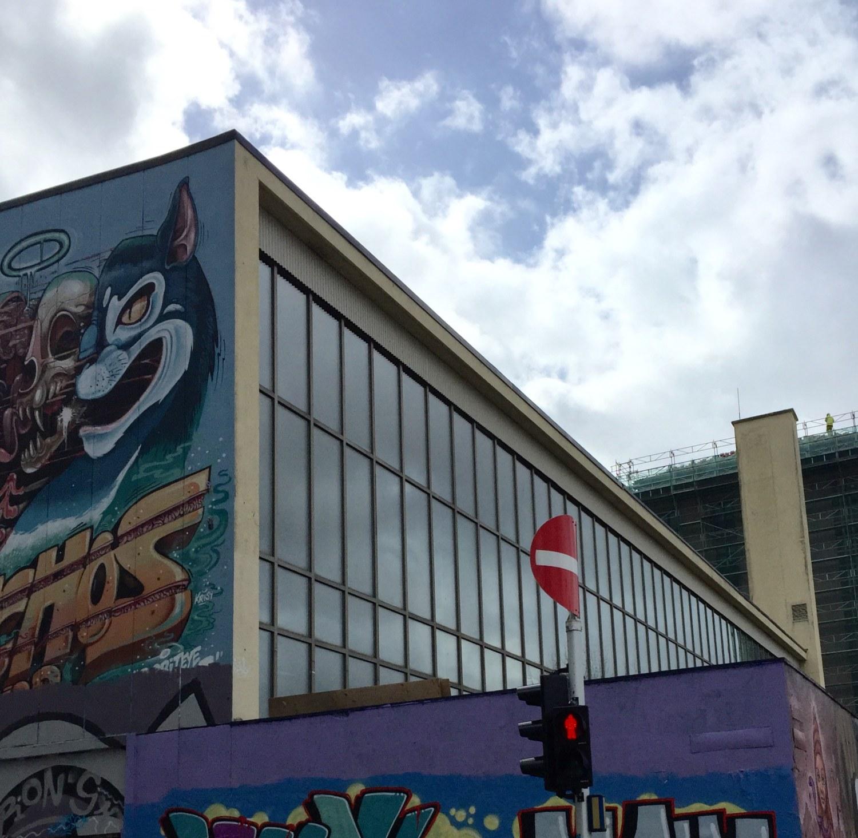 Her er det ønske om et scenekunsthus. Foto: Kristin Lytskjold Raknes