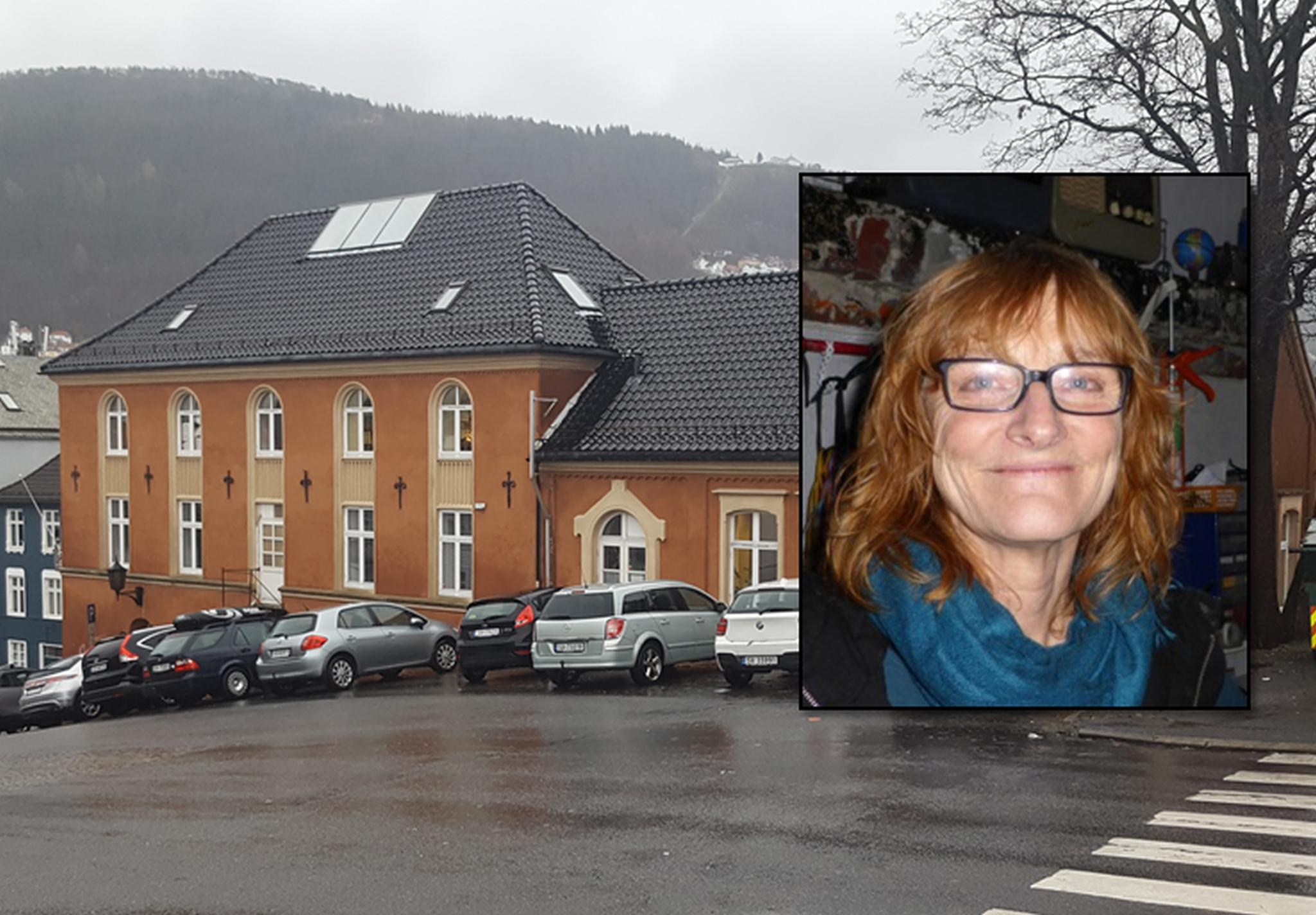 Maia Urstad er styreleder for 40-åringen Hordaland kunstsenter. Foto: Eva Johansen