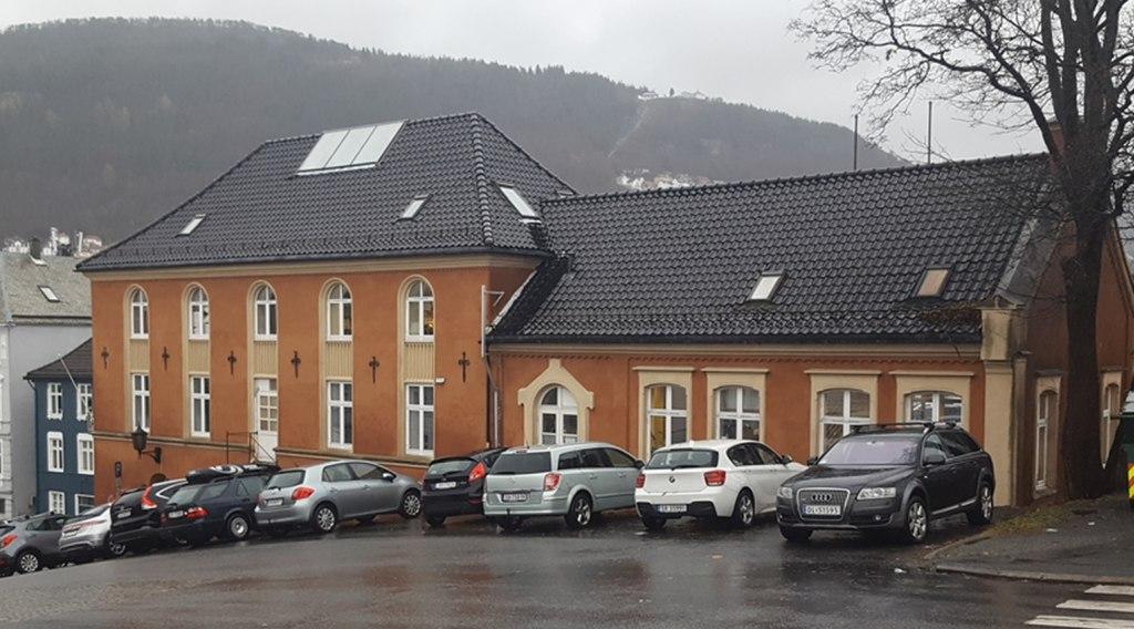 Slik ser bygget ut i dag. Foto: Eva Johansen