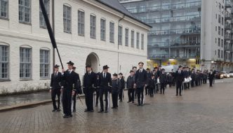 Nordnæs bataillon på Tollboden