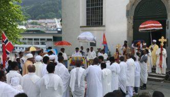 Stor religiøs feiring i Nykirken