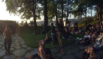 Festival i Nordnesparken