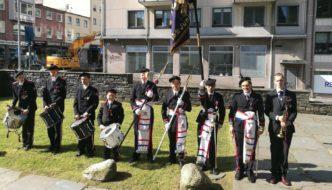 Æresgarde utenfor Nykirken