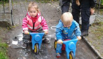 Sykkel-VM i Klosteret barnehage
