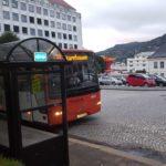 Bussen snur ved Sjøfarendes aldersheim