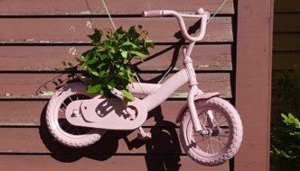 Sykkelen er kommet til rette!