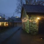 Glimt fra julepyntete nabolag