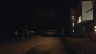 Mørkt i parken
