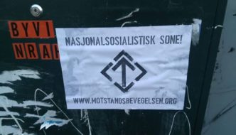 Nynazistisk propaganda spredd igjen